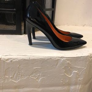 Via spiga Black leather pumps